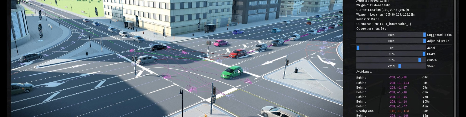 Real-Time Traffic Simulation Technology